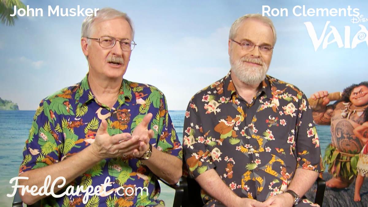 John Musker und Ron Clements im Interview über VAIANA.