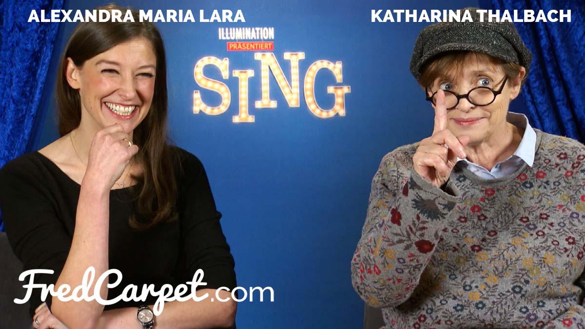 Sing Interview Mit Alexandra Maria Lara Katharina Thalbach