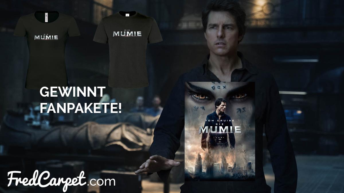 Gewinnspiel Die Mumie Wir Verlosen Fanpakete Fredcarpet